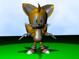 3D tails 2 by GaussianCat