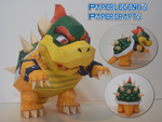 Bowser by Paperlegend