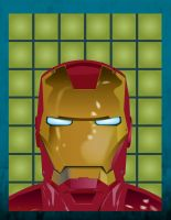 Iron Man Vector Poster by WoundedCoast
