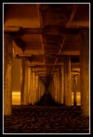 HB Pier at Night 4 by TomasGarcia