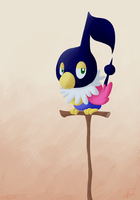 Shiny Chatot by Aruesso