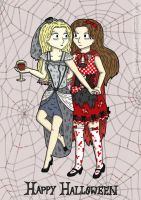 The story of the Corpse Bride and Red Riding Hood by BeckyBumble