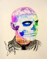Rick Genest- Profile 7 by GeeFreak