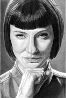 Cate Blanchett as Irina Spalko by khinson