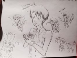 Levi The Cleaning Fairy by SmexyLeviLover