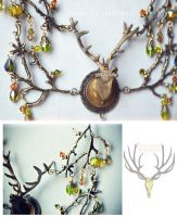 Elk necklace by Verope