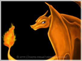 Charizard - I See You by Photo-Freak7