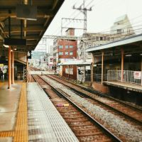 Japan Day 1 - Nara - Shin Oomiya Train Station by arhcamt