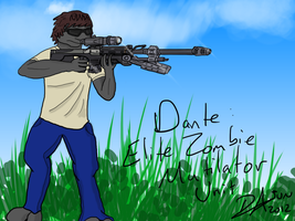 Dante: The Elite Zombie Mutilator Unit by imthinkinarby