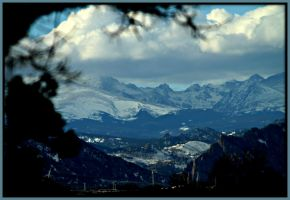 Rocky Mountains.. by candysamuels