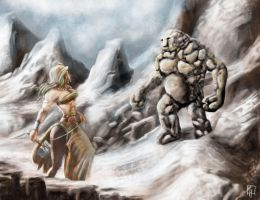 Stone Giant by peileppe