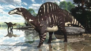 Ouranosaurus by PaleoGuy