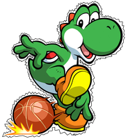 Yoshi Render by andrew-graphic