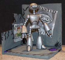 Fugitoid, NECA MIRAGE style by Derrico13