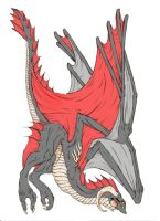 Wyvern coloured by Yazura-chan