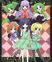 + Higurashi.no.Naku.Koro.ni + by Cherry-BoomBoom