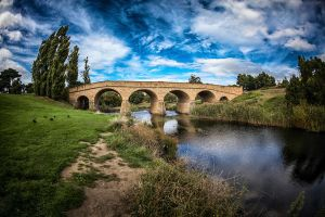 The Richmond Bridge II by Questavia
