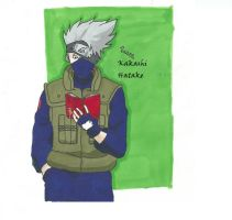 Kakashi Hatake by Randomous