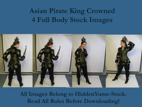 Asian Pirate King Crowned by HiddenYume-stock
