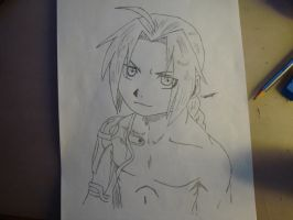 Edward Elric by Artist594