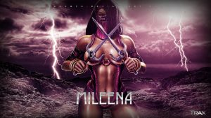 Mileena by TraxGFX