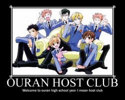 Ouran Host Club by hedgehogtheawesome