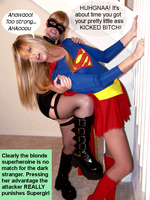Supergirl getting her ass kicked by McGheeny
