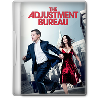 The Adjustment Bureau (2011) Movie DVD Icon by A-Jaded-Smithy