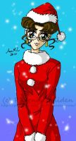Request: Christmas Crescent by MissPhiMouse