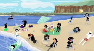 Day Out: At the Beach by Detharmonics