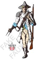 Assassin's Creed 3 Fict.Design by Donoghu