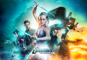 DC's Legends of Tomorrow by monagory
