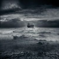 Ghost Ship Away by intao