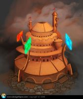 Elemental Stronghold by designfxpro