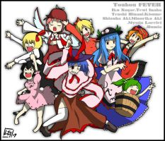 Touhou FEVER by Lessonguy