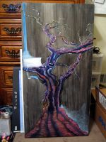 tree painting by LaughingTree