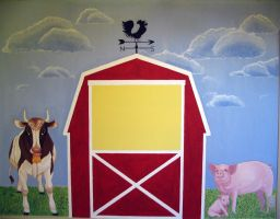 Barn Mural by curiousused