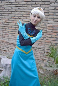 Frozen: Elsa of Arendelle with Swag xD by VeliaRickman