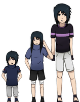 The Uchiha Kids by DoctorMLoli