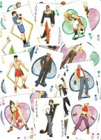 King of Fighters playing cards by Llewxam888