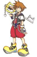 KH:Sora by ClaireRoses