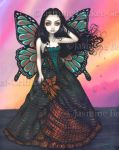 Butterfly Sunset by jasminetoad