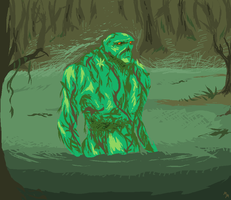 Just a humble Swamp Thing by MalevolentMask