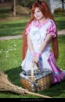 Nyotalia female England 2P - Lil' picnic by SharyNyanko