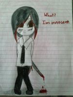 What? im innocent. by KanadeAkatsuki