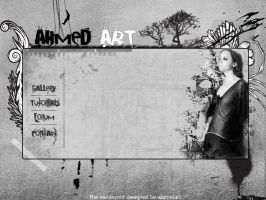 Web Layout 6 by AhmedART