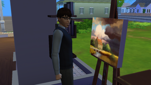 Richard and His 1st Realism Painting by KiiroThePikachu