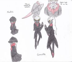 Medlots and Concette by ShadowEclipex