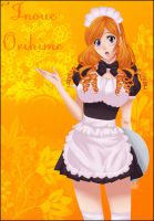 Inoue Orihime Maid by Xset