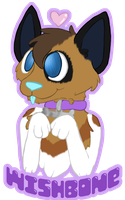 Wishbone Badge by Pure-Escapism